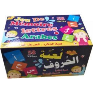jeux de mémoire alphabet arabe